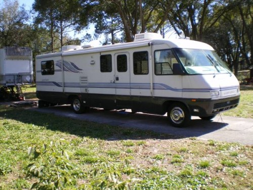1995 airstream land yacht 33ft motorhome for sale in longwood fl. Black Bedroom Furniture Sets. Home Design Ideas