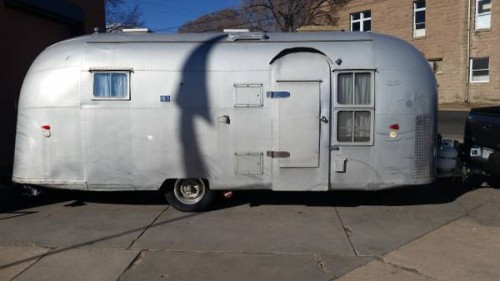 1958 Airstream Flying Cloud 21FT Travel Trailer For Sale in