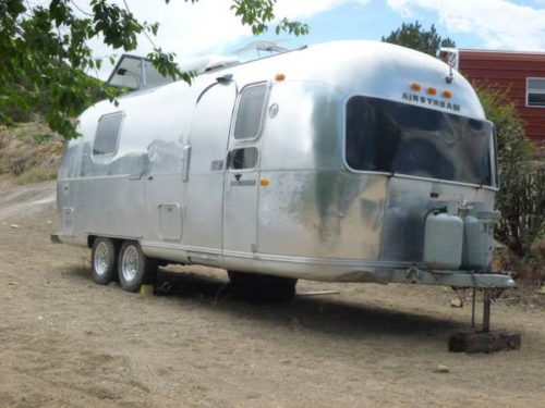1971 airstream land yacht 25ft travel trailer for sale in santa fe nm. Black Bedroom Furniture Sets. Home Design Ideas