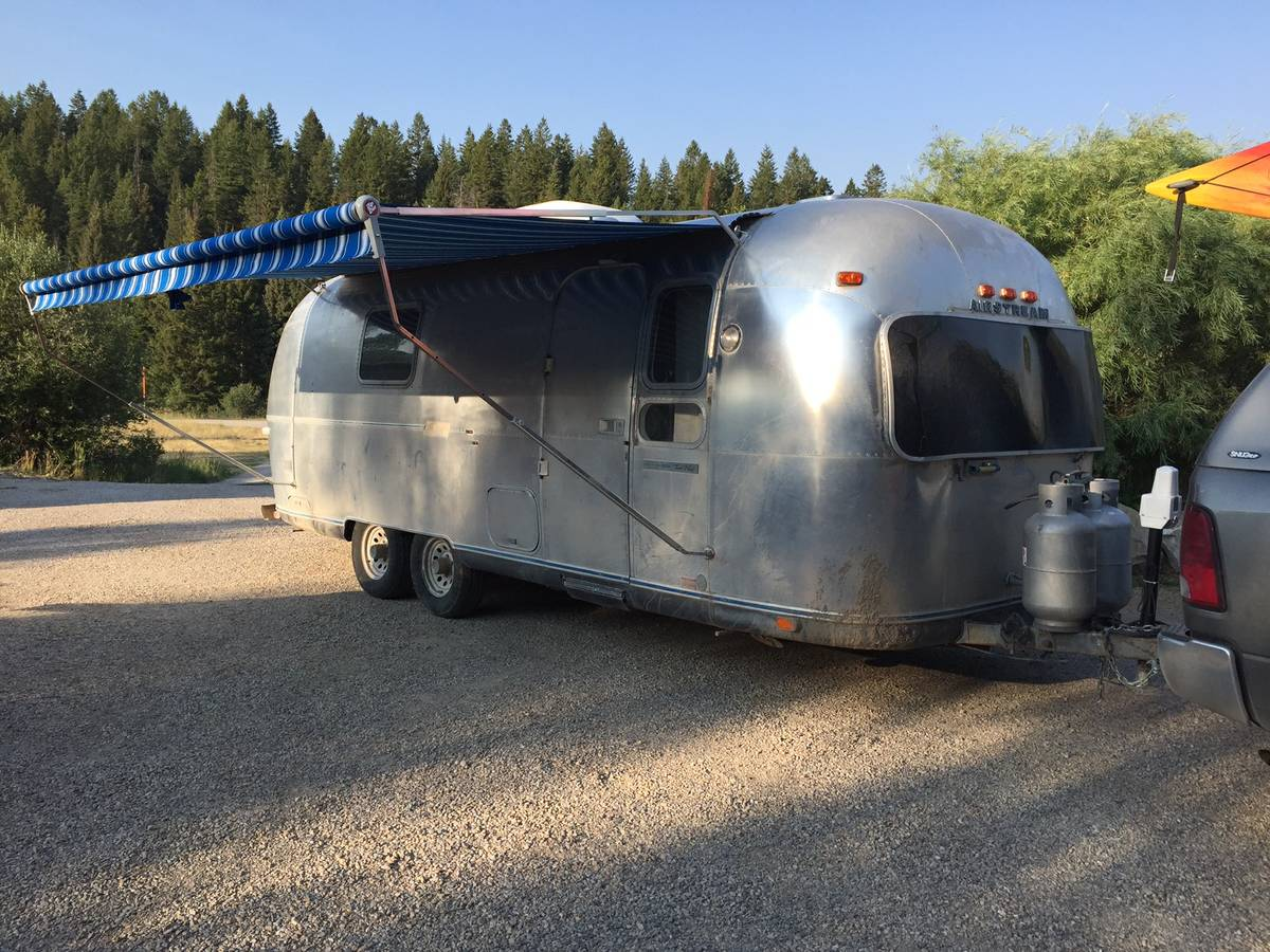 Airstream rv for sale in idaho trailers motorhomes campers 1974 land yacht 25ft publicscrutiny Choice Image